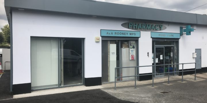 Harcon Engineers have recently completed Rooney's Pharmacy Lisburn Electrical shop fit